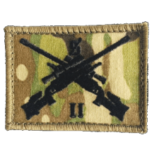 2 RAR sniper badge