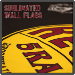 Sublimated Wall Flags